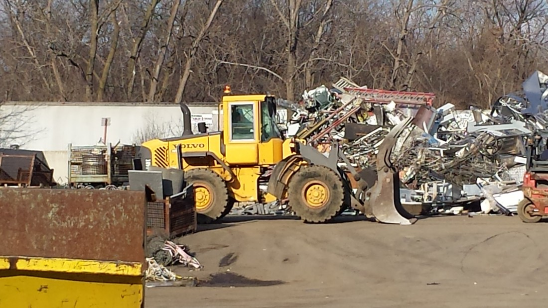 Metal recycling Services Michigan - 20141203_143934